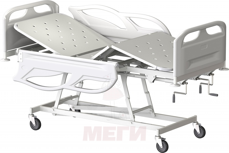 Кровать медицинская функциональная трёхсекционная КМФТ171-МСК-2171