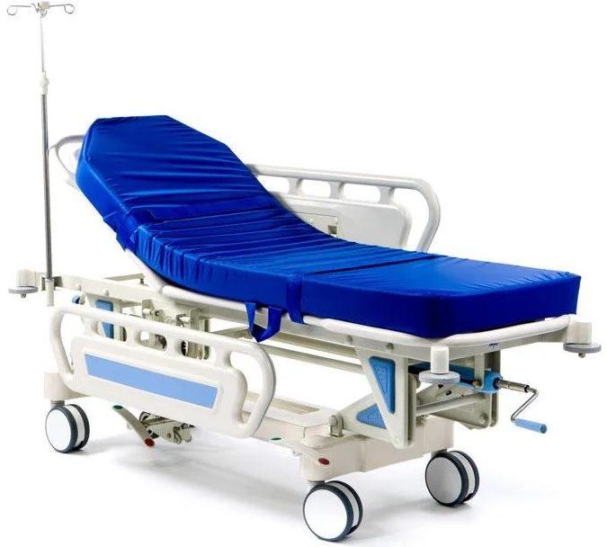 Тележка для перевозки больных «Медицинофф» E-3(p)