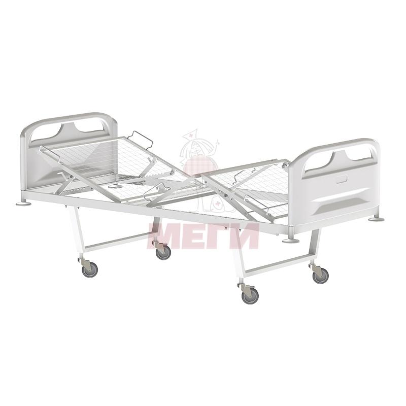 Кровать функциональная трехсекционная КФ3-01-МСК-103П на колесах