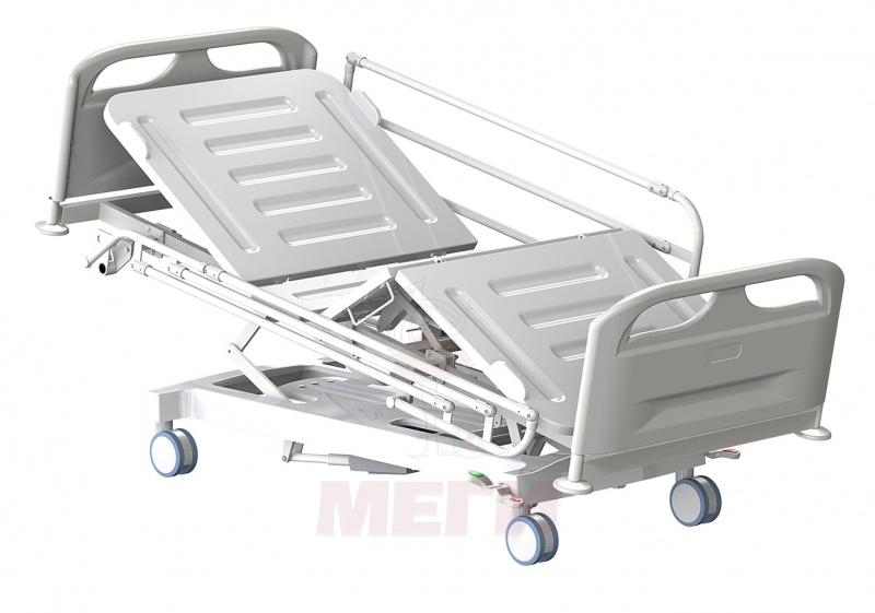 Кровать медицинская функциональная трёхсекционная КМФТ140-МСК-3140Т