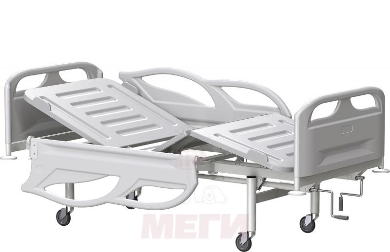 Кровать медицинская функциональная трехсекционная КФЗ-01-МСК-3103