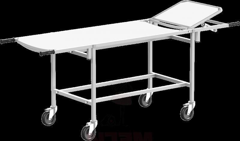 Тележка для перевозки больных со съемными носилками ТБсп-01-«МСК» (код МСК-401-01М)