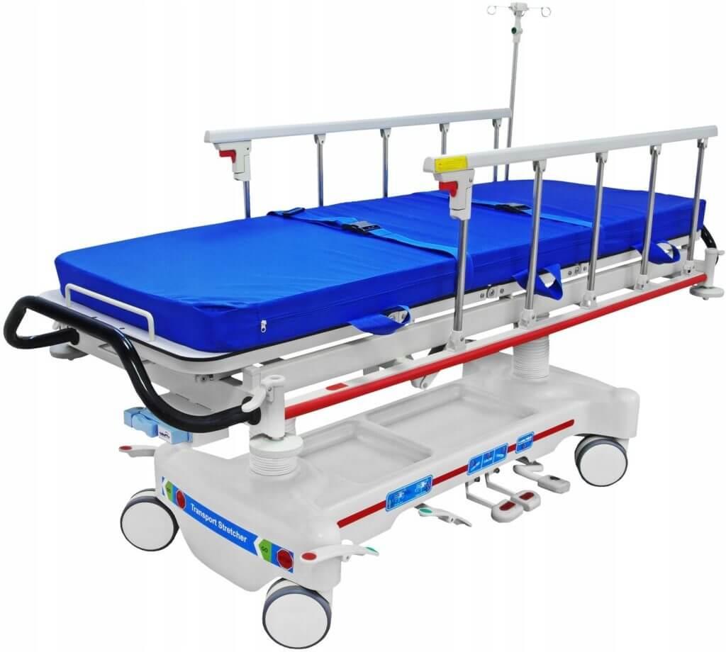 Тележка для пациентов гидравлическая «Медицинофф» E-8