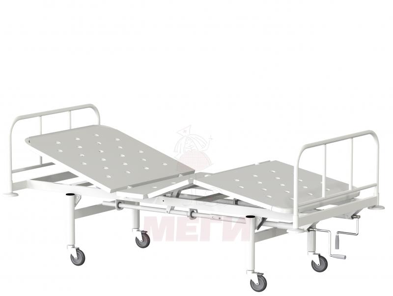 Кровать функциональная трехсекционная КФ3-01-МСК-1103 на колесах