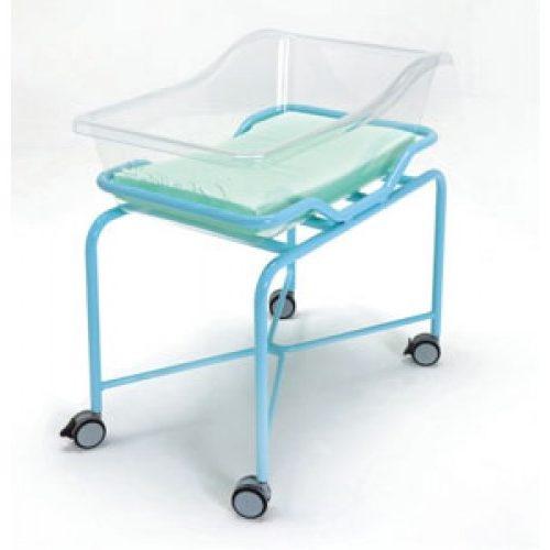VERNIPOLL 19-FP650 (вариант 2) кровать для новорожденных на окрашенной тележке