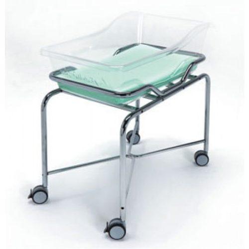 Vernipoll 19-FP650 кровать для новорожденных на хромированной тележке