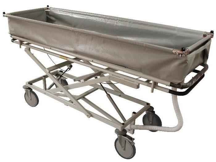 ТВ-ММ 1290 Тележка внутрикорпусная многоуровневая для мытья пациентов