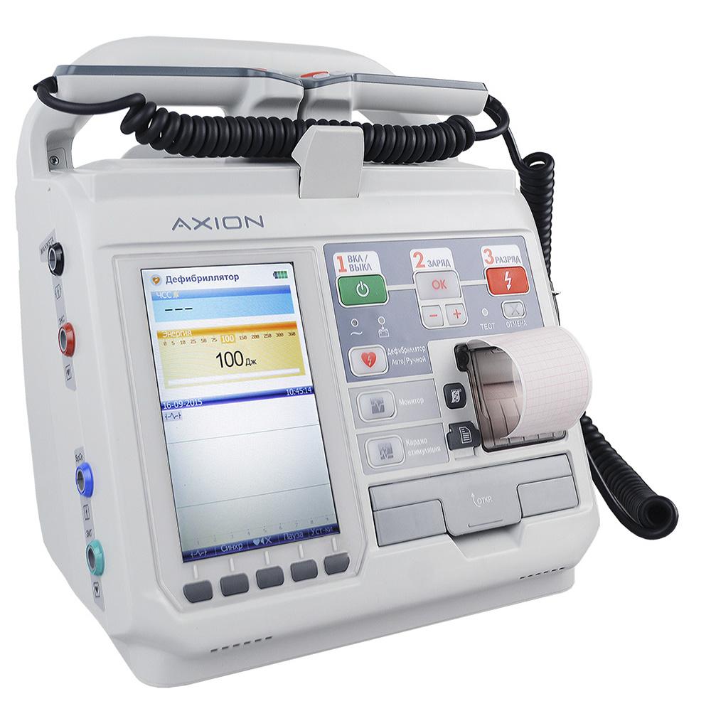 Дефибриллятор-монитор ДКИ-Н-11 Аксион с функцией АНД