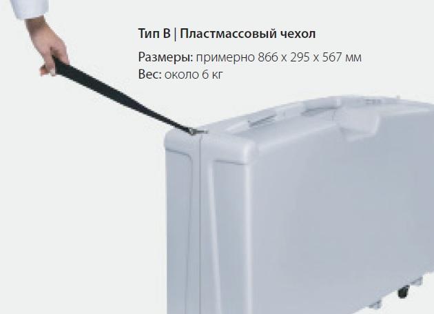 пластмассовый чехол ACCUNIQ BC300