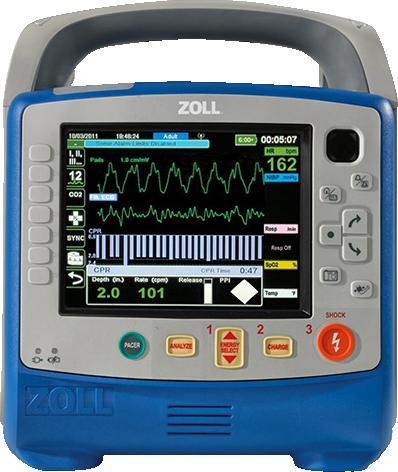 Портативный наружный дефибриллятор монитор Zoll X series