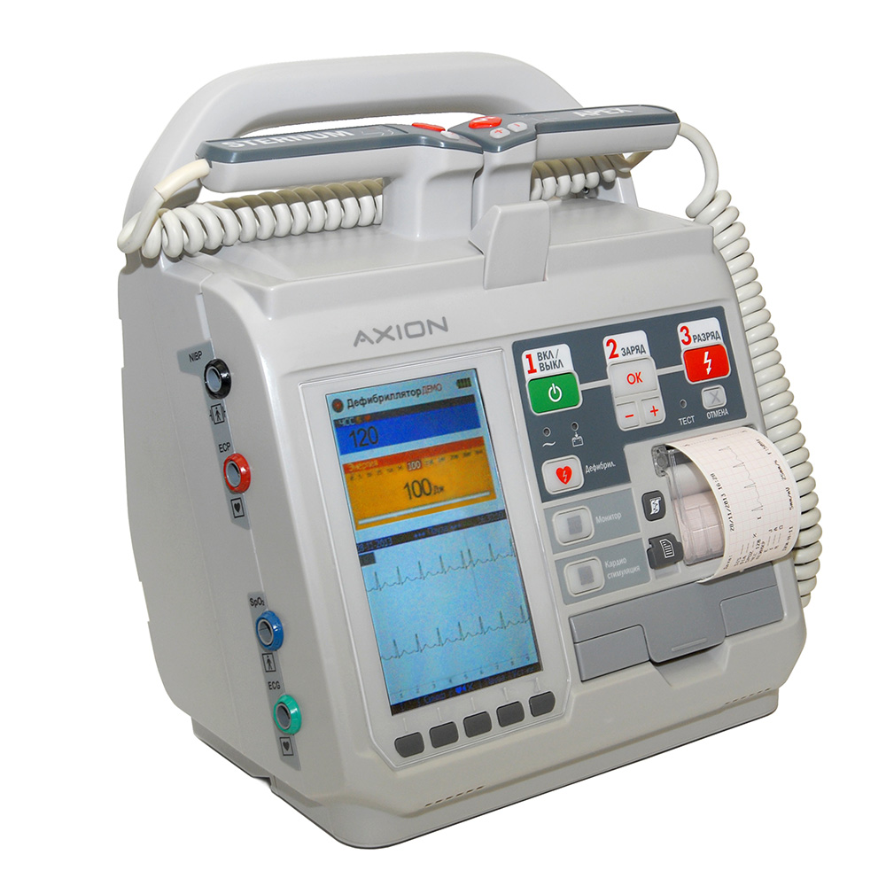 Дефибриллятор-монитор ДКИ-Н-11 Аксион