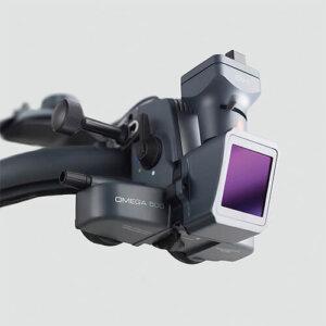Видеоофтальмоскоп OMEGA 500 с LED освещением, аккумулятор на шлеме UNPLUGGED