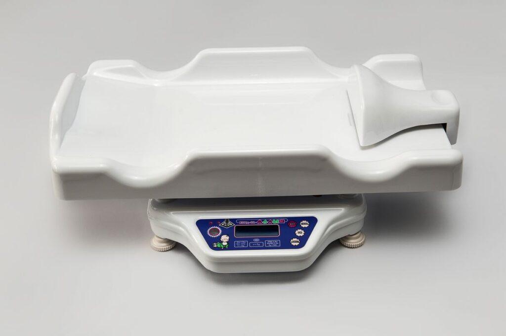 Весы для новорожденных с электронным ростомером ВЭНД -01 «МАЛЫШ» -15-С-5-И-РЭ-А