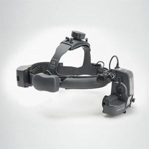 Офтальмоскоп зеркальный OMEGA 500 с LED освещением, сетевой адаптер HEINE