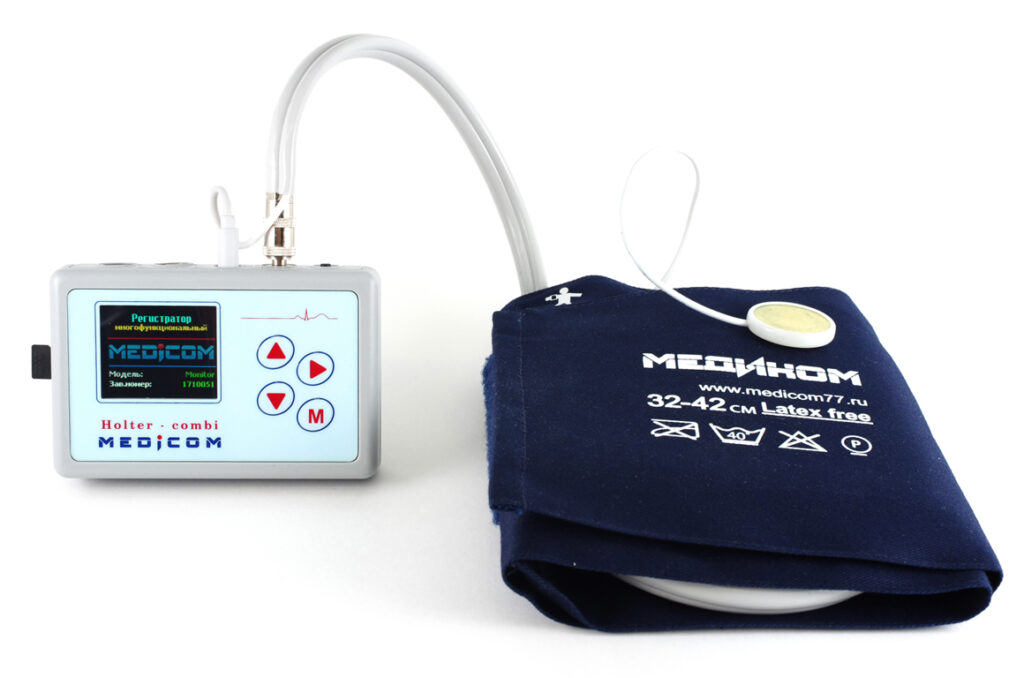 Суточный монитор артериального давления МД-01М