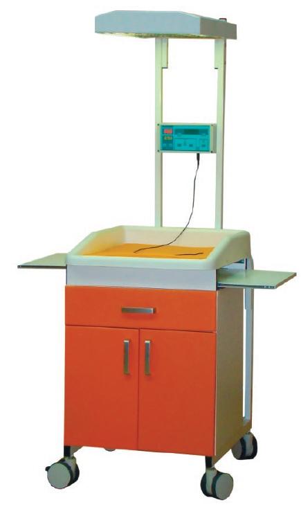 Стол для санитарной обработки новорожденных СН-02-Аском (инфракрасный обогрев)