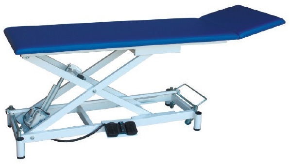 Массажный стол двухсекционный с электроприводом СММ-02-Аском (Х.201)