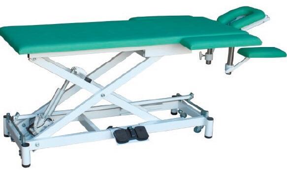 Массажный стол с подголовником, подлокотниками с электроприводом СММ-02-Аском (Х.202)