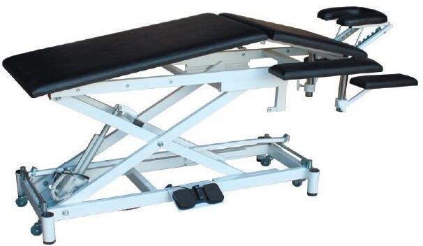 Массажный стол с изломом ложа с электроприводом СММ-02-Аском (Х.301)