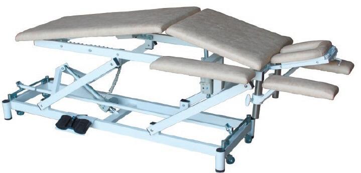 Массажный стол с изломом ложа на Н-раме СММ-03-Аском (Н.301)