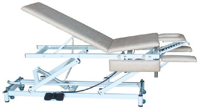 Массажный стол с положением «ноги вверх» на Н-раме СММ-03-Аском (Н.302)